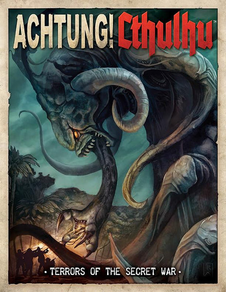 Achtung! Cthulhu - Terrors of the Secret War - PDF