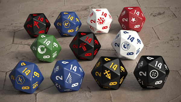 Mutant Chronicles: Collector's Dice Set (14 dice)