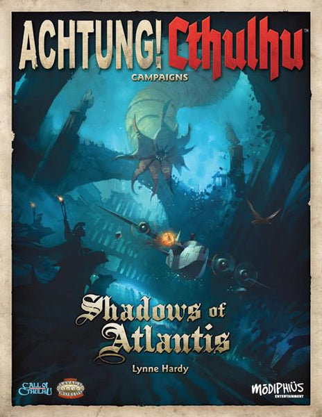 Achtung! Cthulhu - Shadows of Atlantis - PDF