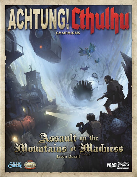 Achtung! Cthulhu - Assault on the Mountains of Madness