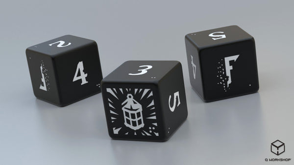 Fragged Aeternum 3d6 Dice Set