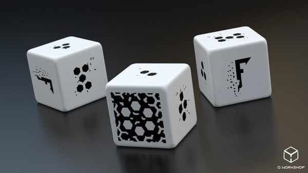 Fragged Empire 3d6 Dice Set