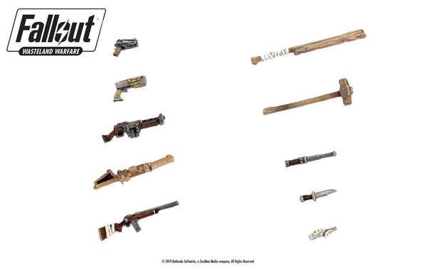 Fallout: Wasteland Warfare - Weapons Upgrade Pack