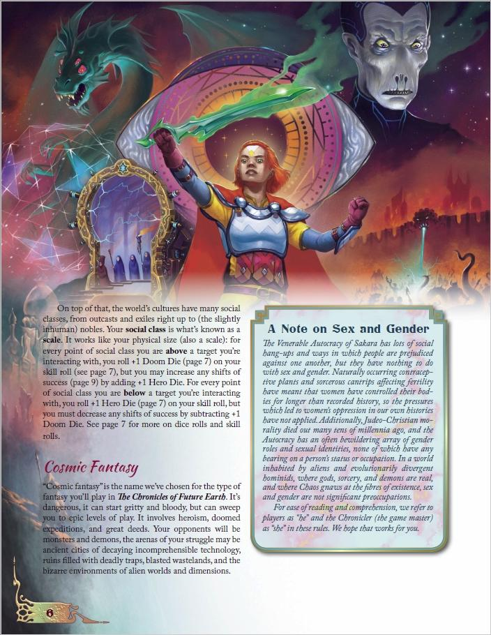 The Chronicles of Future Earth: The Swallower of Souls - Quickstart Adventure