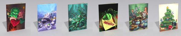Xmas Cards: Cthulhu-themed pack of six