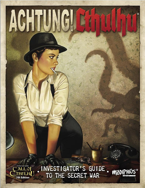 Achtung! Cthulhu  - 7th edition Investigator's Guide - PDF