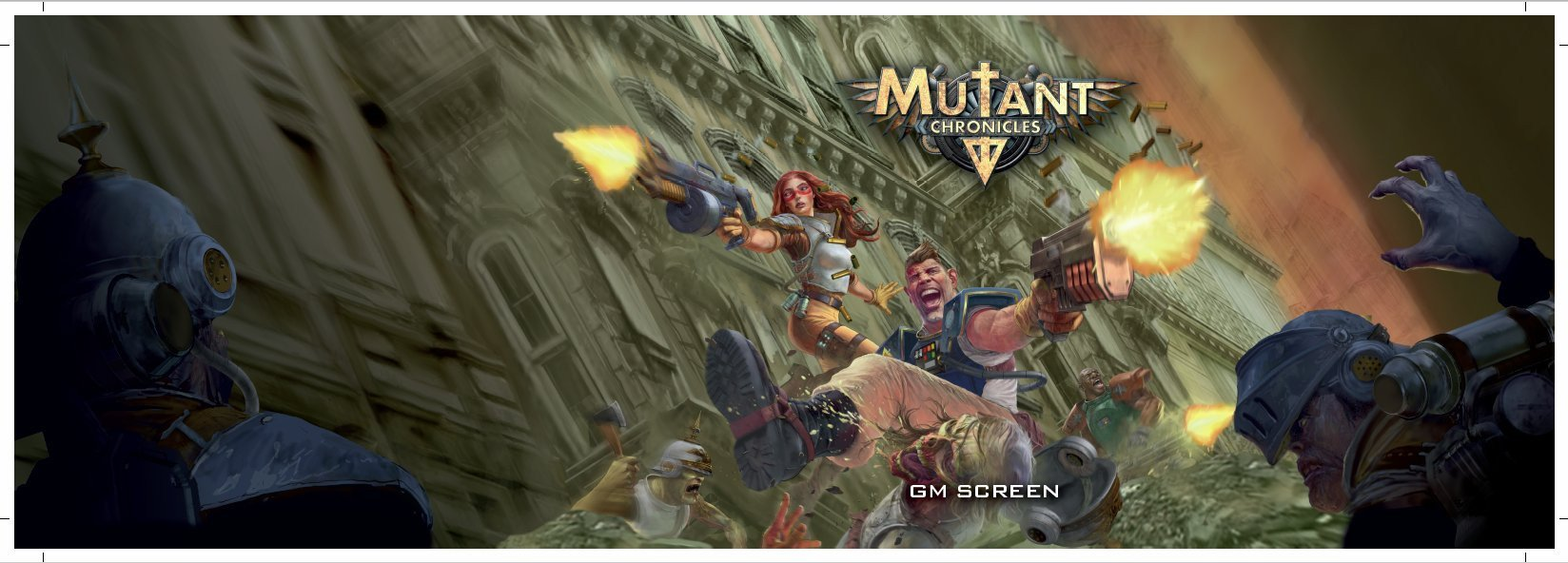 Mutant Chronicles Gamesmaster Screen - PDF