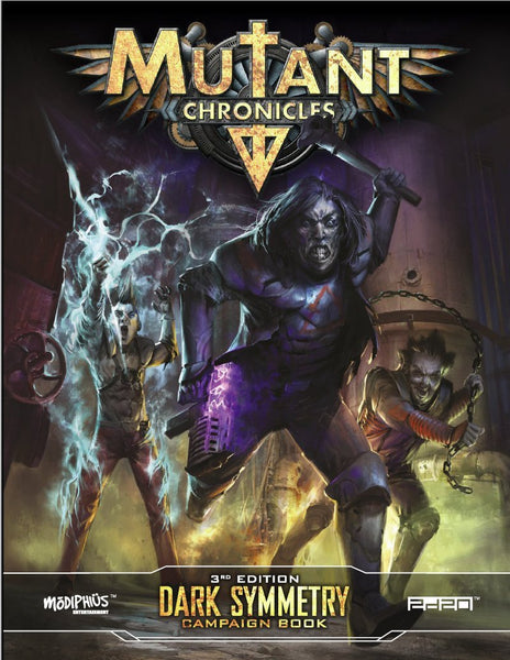 Mutant Chronicles: Dark Symmetry Campaign - PDF