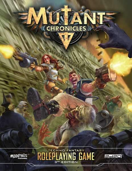 Mutant Chronicles 3rd Edition FREE Quickstart