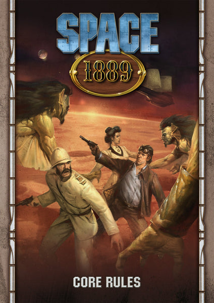 Space 1889 Core Rulebook - PDF