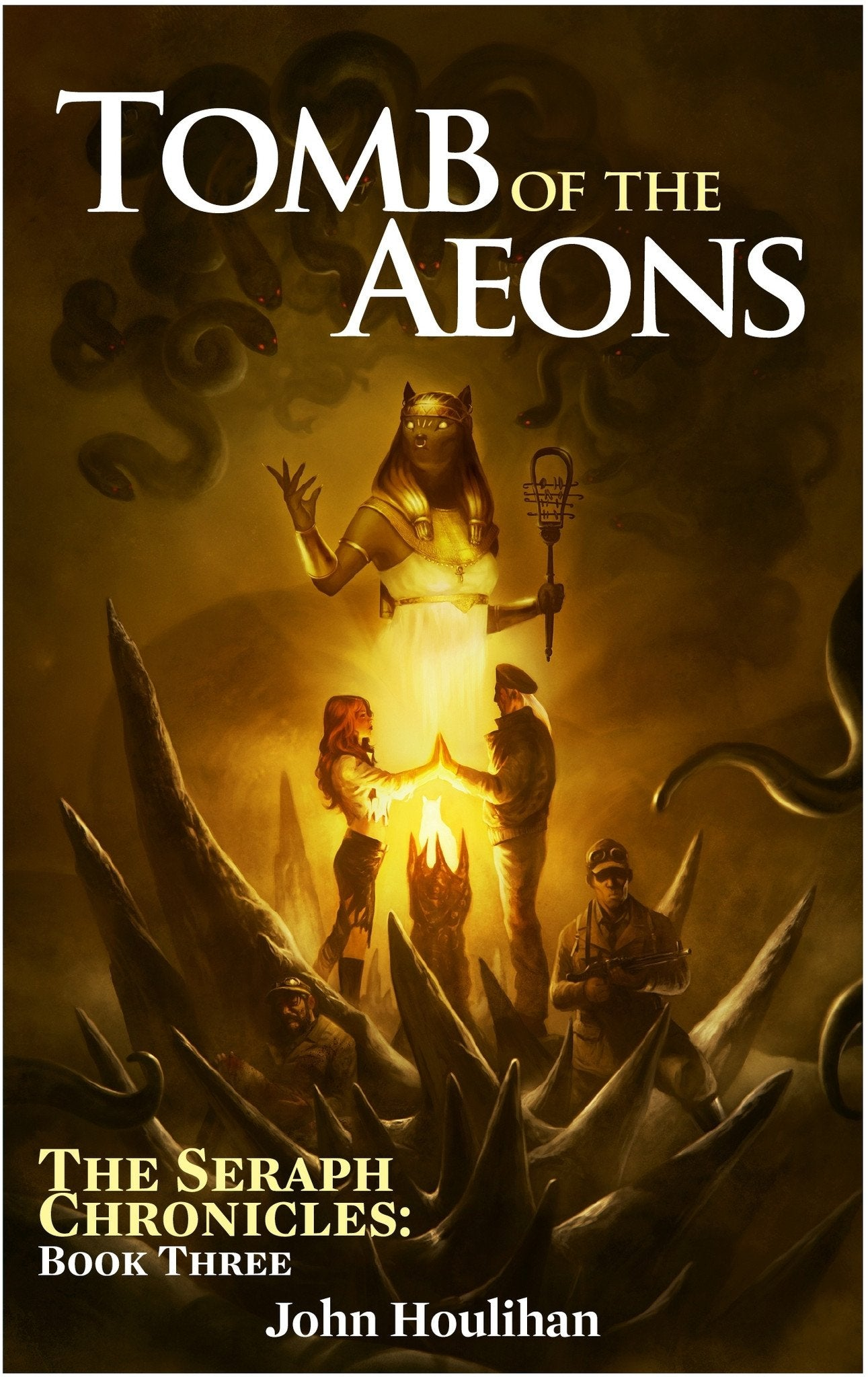 Achtung! Cthulhu Fiction: The Seraph Chronicles Vol 3. Tomb of the Aeons - PDF