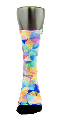 Diamond CES Custom Socks - CustomizeEliteSocks.com - 2