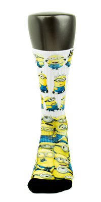 Minions CES Custom Socks - CustomizeEliteSocks.com - 2