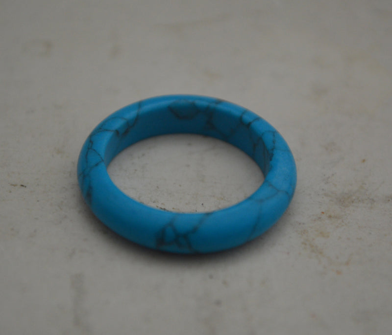 Turquoise Gemstone Vegan Rings
