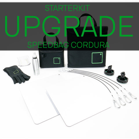 CRLS Starter Upgrade Kit to black Cordura Speedbags