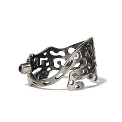 Panther Ring Cutout | Black Rhodium