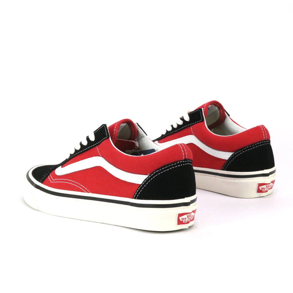 Old Skool 36 Deluxe Anaheim Factory OG Black Red White