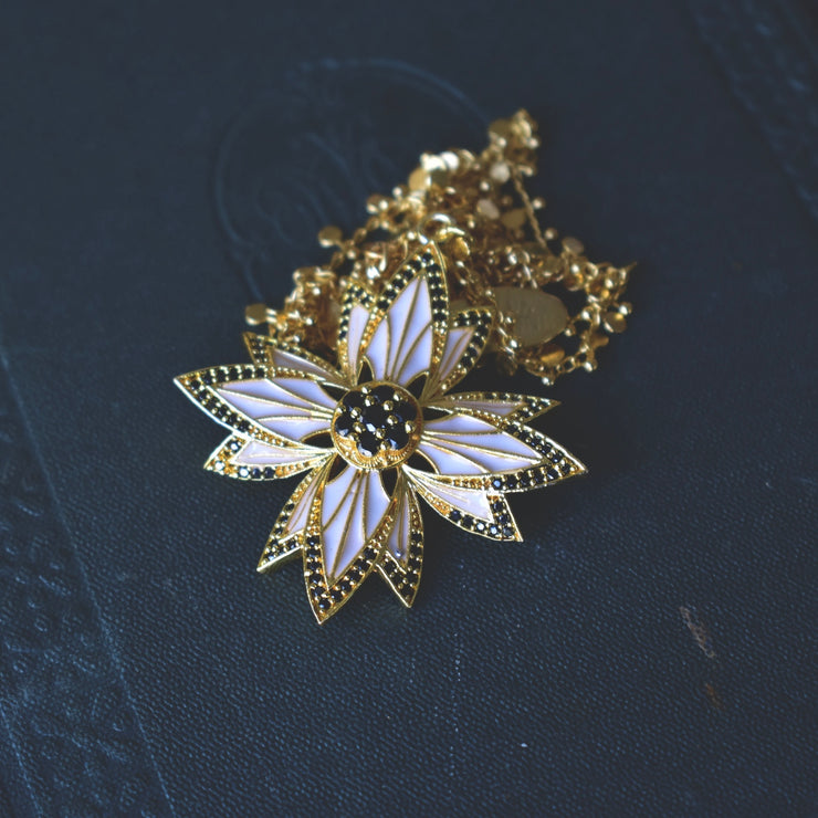 PHOENIX NECKLACE /// WHITE