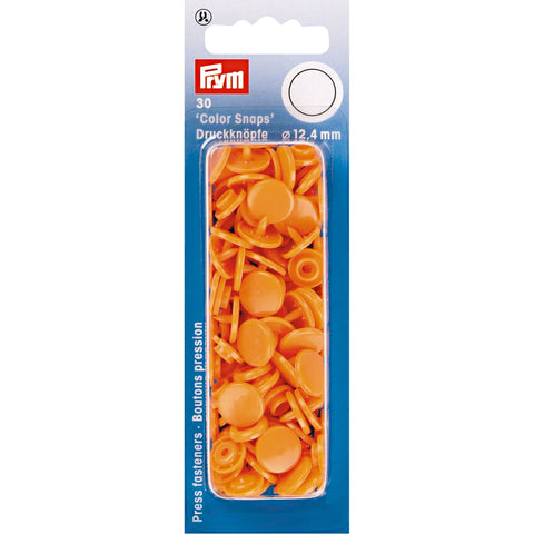 Prym Colour Snaps - Orange