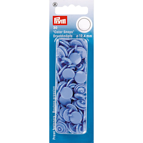 Prym Colour Snaps - Lavender Blue