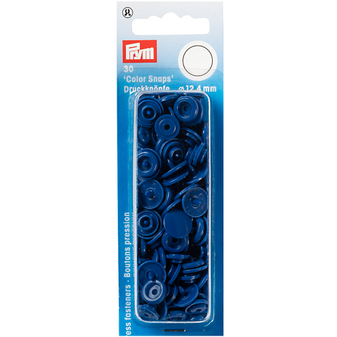 Prym Colour Snaps - Blue