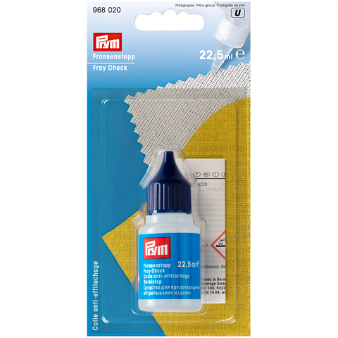 Prym 968020 Fray Check Liquid available from Jaycotts