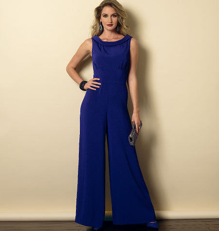 B6130 Misses' Dress and Jumpsuit | Easy