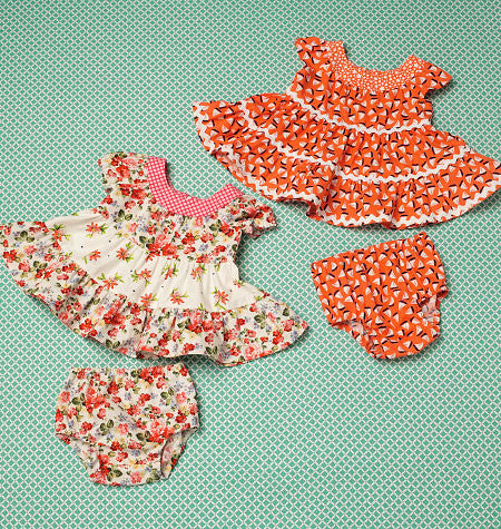 K0198 Baby Dresses and Panties