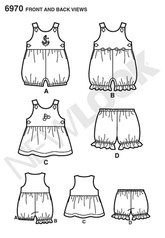 New Look 6970 Sewing Pattern