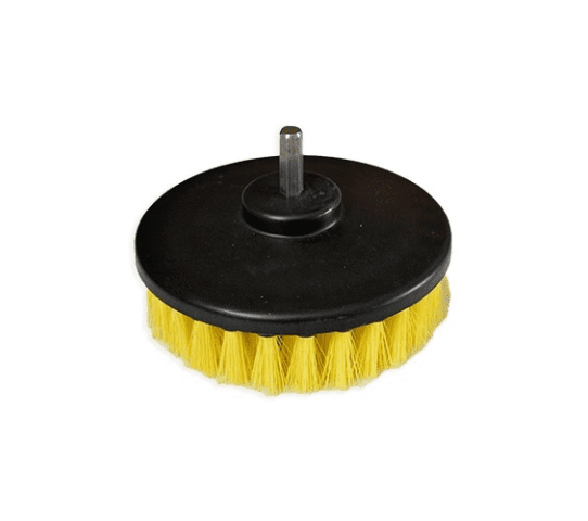 Round Power Drill Brush Attachment W/ Stiff Bristles 5 Inch
