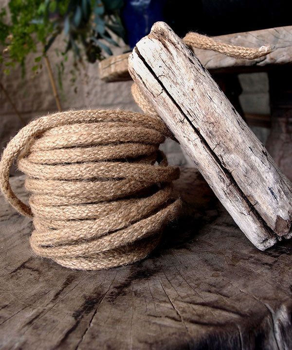 9 Yards Natural Wired Jute Rope