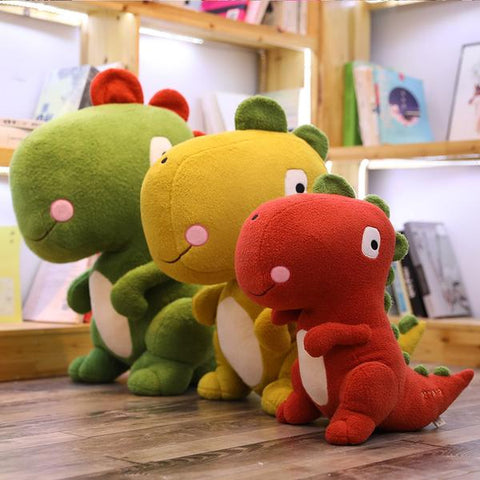 Peluches dinosaures