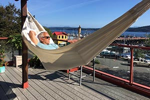 Natural colombian double hammocks