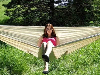 Hammock Universe Hammocks with Stands Natural Brazilian Style Double Hammock with Bamboo Stand