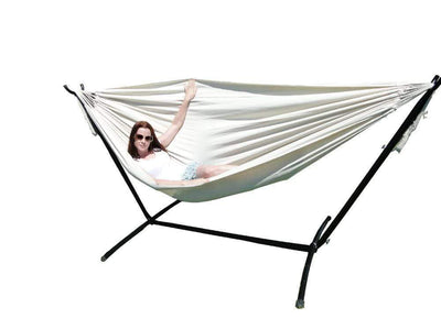 Hammock Universe Hammocks with Stands natural Brazilian Double Hammock with Universal Stand