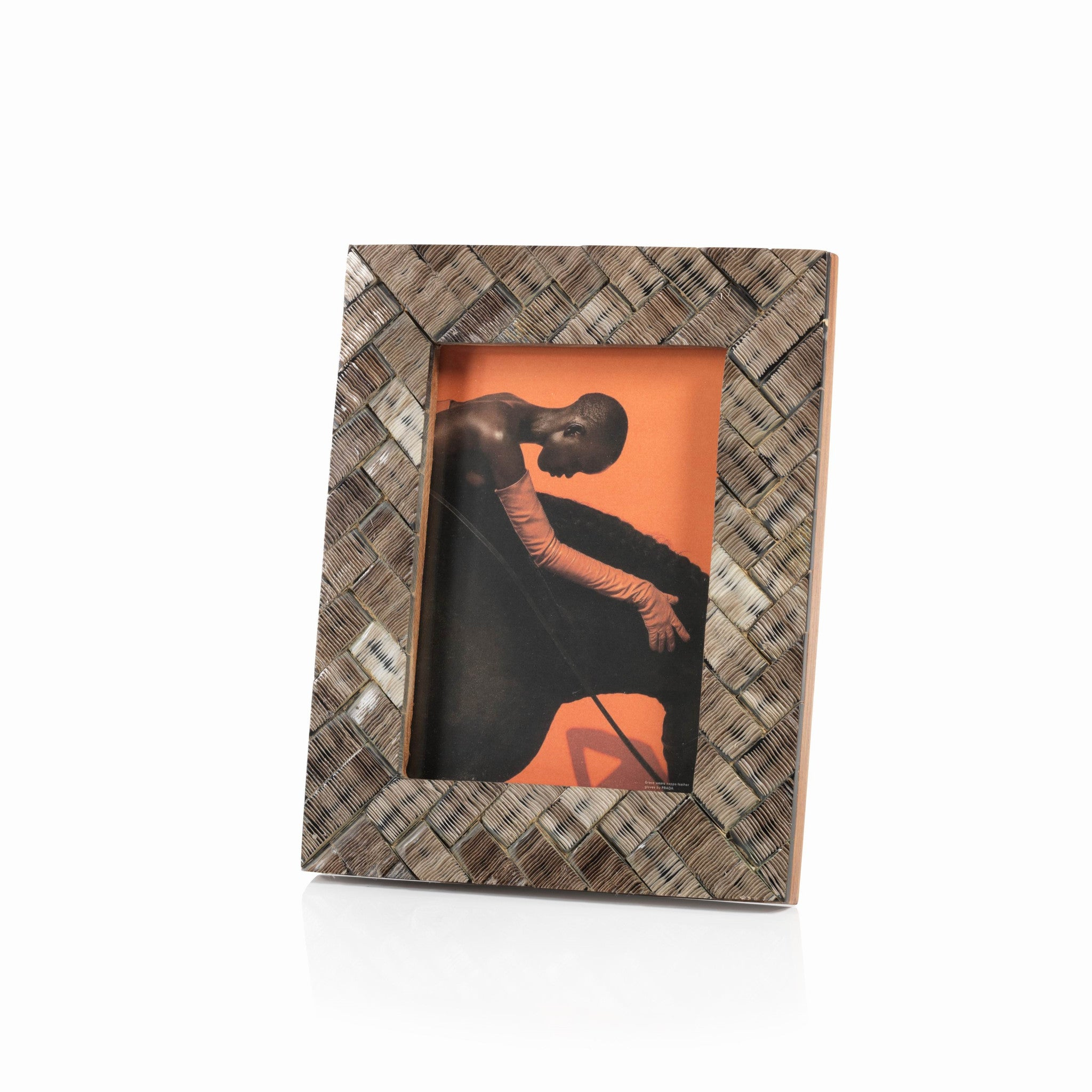 Tetouan Shagrin Horn Photo Frame