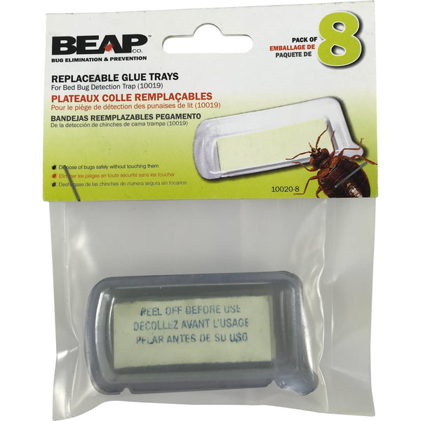 Replaceable Glue Trays - 8/pack - Bed Bug SOS