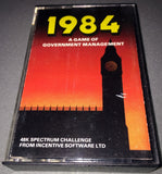 1984 - A Game Of Government Management - TheRetroCavern.com  - 1