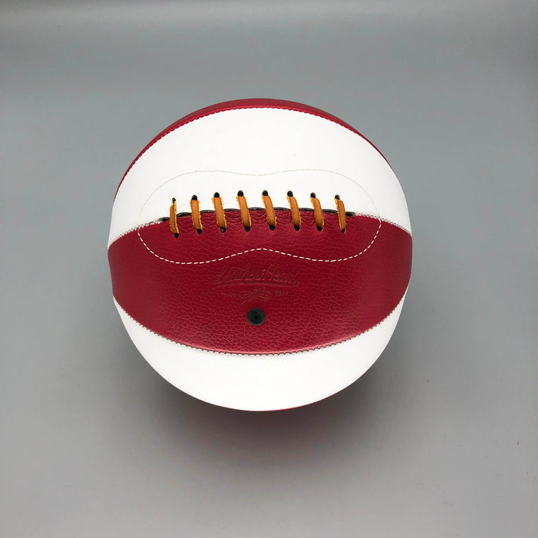Red and White Basketball
