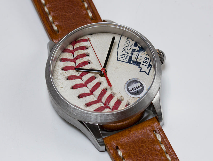 Atlanta Braves Game Used Baseball Watch - 2016 with Commemorative Logo