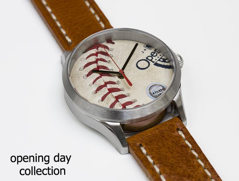 Opening Day Collection - Game Used Baseball Watches