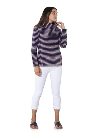 French Terry Long Sleeve Pullover