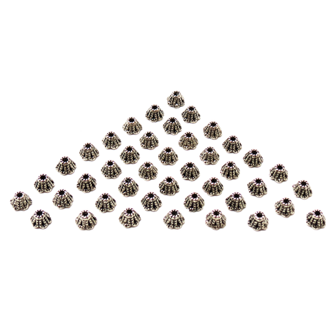 Bead Caps; 42pcs
