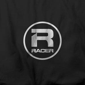 RACER White Round Logo - Short Sleeve T-Shirt