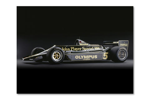Lotus 79 Ford Side Archival Canvas and Photograph Limited Edition Print