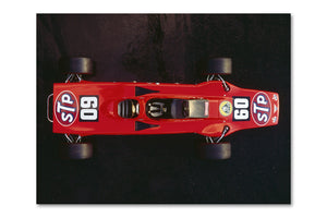 Lotus 56 Turbine Top Archival Canvas and Photograph Limited Edition Print