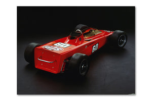 Lotus 56 Turbine Rear Archival Canvas and Photograph Limited Edition Print