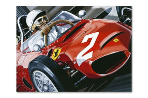 Phill Hill Monza 1961 Archival Canvas Limited Edition Print