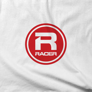 RACER Red Round Logo - Short Sleeve T-Shirt - 2 colors