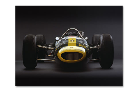 Lotus 34 Ford Front Archival Canvas and Photograph Limited Edition Print